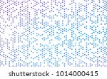 Light Pink, Blue vector banner with circles, spheres. Abstract spots. Background of Art bubbles in halftone style with colored gradient.