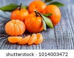 Mandarine Orange Or Tangerine...