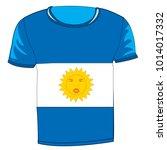 t shirt flag argentina on white ...   Shutterstock .eps vector #1014017332