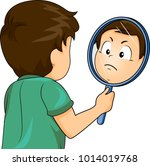 illustration of a kid boy... | Shutterstock .eps vector #1014019768
