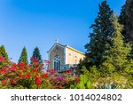 monastery of the order of... | Shutterstock . vector #1014024802