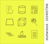 science linear icon set. simple ...   Shutterstock .eps vector #1014027346