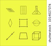 science linear icon set. simple ...   Shutterstock .eps vector #1014027376