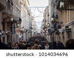 bordeaux  france   december 27  ... | Shutterstock . vector #1014034696