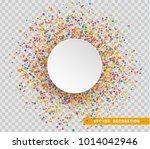 colorful celebration background ... | Shutterstock .eps vector #1014042946