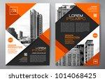 business brochure. flyer design.... | Shutterstock .eps vector #1014068425