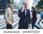 confident executive manager... | Shutterstock . vector #1014072025