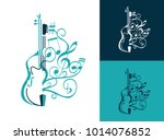 Abstract Musical Sign With...