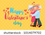 happy valentines day greeting... | Shutterstock .eps vector #1014079702