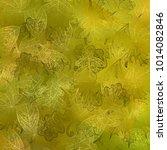 illustration of autumn doodle... | Shutterstock .eps vector #1014082846