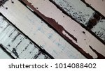 old wood surface painted | Shutterstock . vector #1014088402