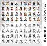 character design  user  people  ... | Shutterstock .eps vector #1014091432