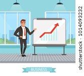 self confident businessman...   Shutterstock .eps vector #1014093232