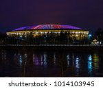 moscow  russia  january 25 ...   Shutterstock . vector #1014103945