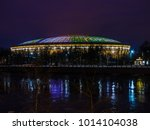 moscow  russia  january 25 ...   Shutterstock . vector #1014104038