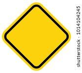 blank warning sign | Shutterstock .eps vector #1014104245