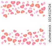 valentines day celebration... | Shutterstock . vector #1014112426
