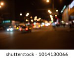 night life of a big city  road. ... | Shutterstock . vector #1014130066