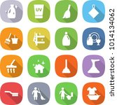 flat vector icon set   cleanser ... | Shutterstock .eps vector #1014134062