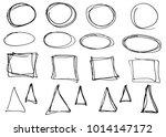 doodle vector circles ...   Shutterstock .eps vector #1014147172