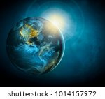 earth from space. best internet ... | Shutterstock . vector #1014157972