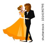 beauty and the beast faity tale | Shutterstock .eps vector #1014190795