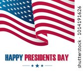 happy presidents day... | Shutterstock .eps vector #1014191626