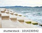 sea organ  an architectural...   Shutterstock . vector #1014230542