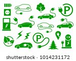ecological technology car   Shutterstock .eps vector #1014231172