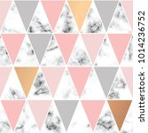 vector marble texture  seamless ... | Shutterstock .eps vector #1014236752