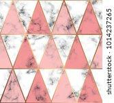 vector marble texture design... | Shutterstock .eps vector #1014237265