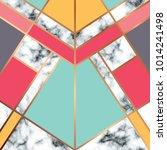 vector marble texture design... | Shutterstock .eps vector #1014241498