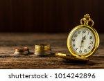 still life vintage golden... | Shutterstock . vector #1014242896