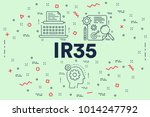 conceptual business... | Shutterstock . vector #1014247792