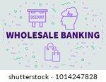 conceptual business... | Shutterstock . vector #1014247828