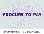 conceptual business... | Shutterstock . vector #1014249388
