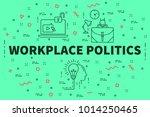 conceptual business... | Shutterstock . vector #1014250465