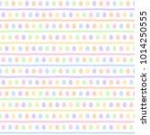 colorful easter  spring... | Shutterstock .eps vector #1014250555