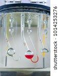 Small photo of Laboratory Glassware Oil density vials