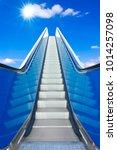 Escalator To The Blue Sky  ...