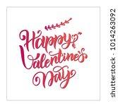 happy valentine s day ...   Shutterstock .eps vector #1014263092