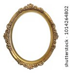 Oval Golden Frame For Painting...