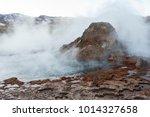 el tatio geysers  the biggest...   Shutterstock . vector #1014327658