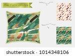 interior design textile... | Shutterstock .eps vector #1014348106