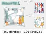 interior design textile... | Shutterstock .eps vector #1014348268