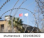 nicosia turkish occupation with ...   Shutterstock . vector #1014382822