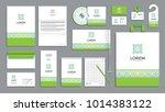 corporate identity branding... | Shutterstock .eps vector #1014383122