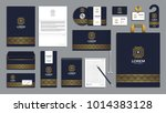 corporate identity branding... | Shutterstock .eps vector #1014383128