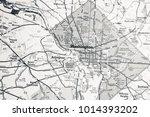 washington on map | Shutterstock . vector #1014393202