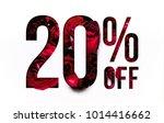 20  off discount promotion sale ... | Shutterstock . vector #1014416662